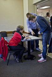 Registration is a straightforward process.