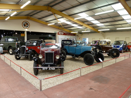 A wonderful selection of cars from the 1920s and 30s is on display at the new Haynes International Motor Museum at Sparkford.