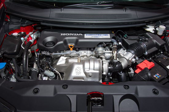 The engine felt responsive and the gearbox made for a very easy drive.