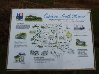 If you have time to explore the local area, it's worth visiting the nearby village of South Brent; again there's plenty of information about this village to be found on the signboard in the car park at Shipley Bridge.