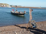 From the beaches on both sides of the Teign estuary, this small ferry carries pedestrians from Shaldon to Teignmouth (or vice versa) and back again. The journey takes just a few minutes and costs only £1.50 per adult for each trip.