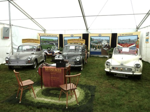 Deservedly taking the 'Best Stand' award was the Dorset branch of the Minor Owners' Club, with their re-creation of a Morris dealer's showroom of years past.