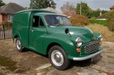 Demand today for Minor commercials is extremely strong. This particular Minor van was in fact sold as an Austin version, complete with a slightly different grille.