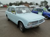 Fancy a Toledo? This very tidy Triumph was spotted in the car park, with a asking price of £1,750.