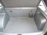 The boot is cavernous, and incorporated within it are additional storage compartments, plus bag hooks.