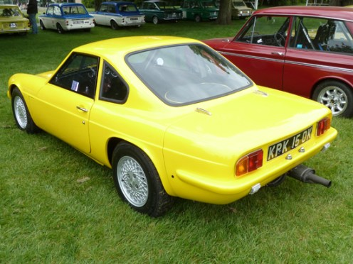 This Imp-based Ginetta looked superb at the Beaulieu Spring Autojumble.
