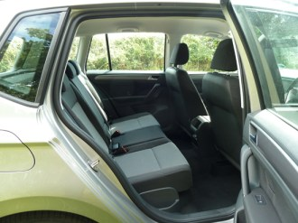 There is plenty of room in the SV for up to five adult passengers to travel in comfort.