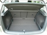 There's loads of space for luggage, and the load compartment's capacity can be varied considerably by setting the rear seat position as required (please see main text).