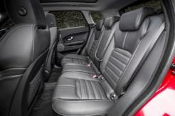 Range Rover 2016 Evoque rear seats