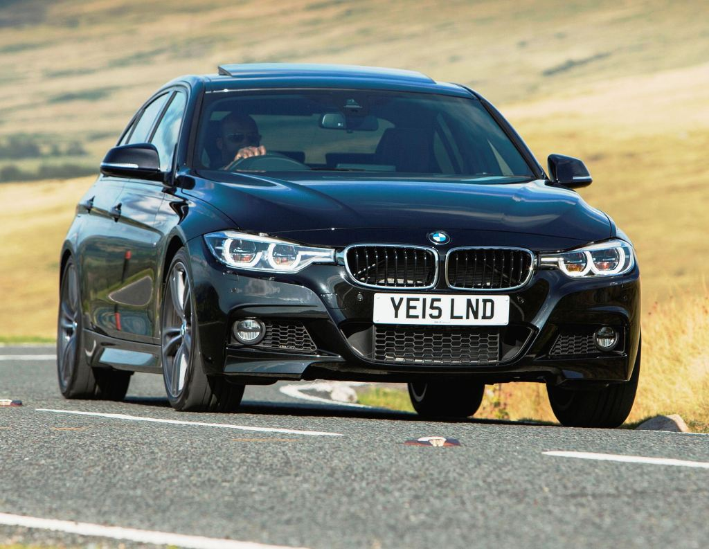 BMW 3 Series Saloon front action