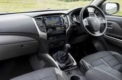 Mitsubishi new L200 Double Cab front interior