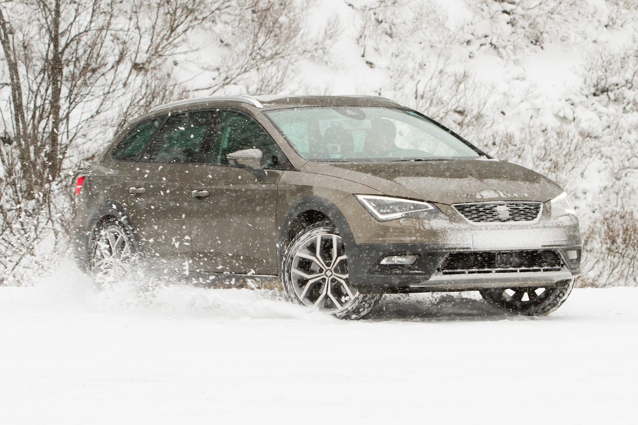 Pictures taken in Obertauern, Austria, during the SEAT X-PERIENCE Event