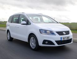 SEAT Alhambra LOW RES. arge MPV front side action copy