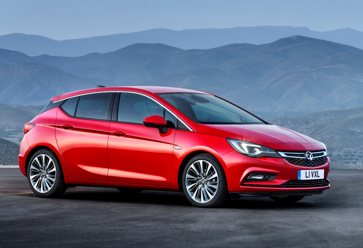Vauxhall Astra Hatchback 2016 European Car of the Year