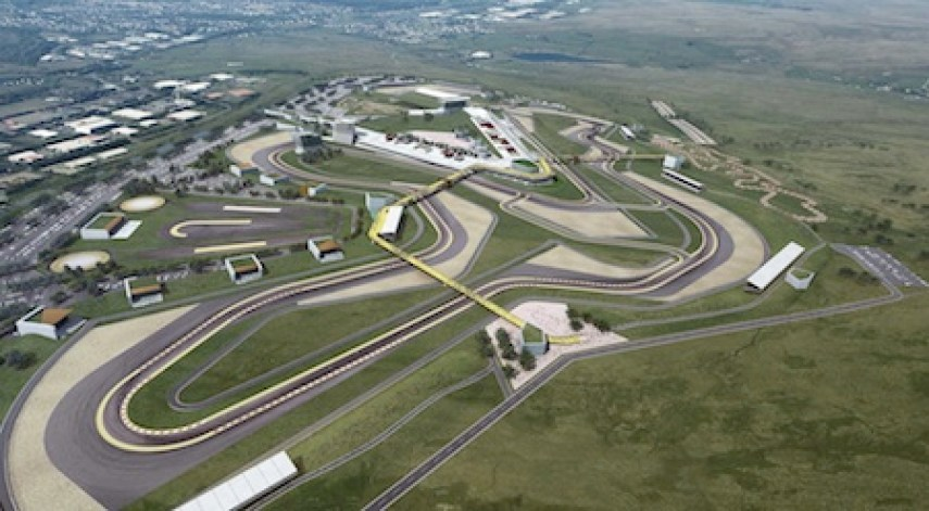 Circuit of Wales aerial MED