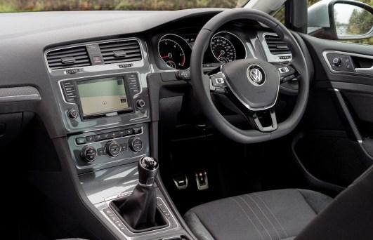 VW Golf Alltrack front interior copy