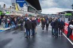 The pit lane is open to the public on Friday afternoon.