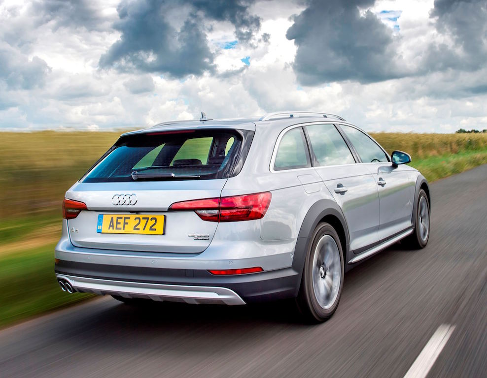 AUDI A4 ALLROAD rear side action copy