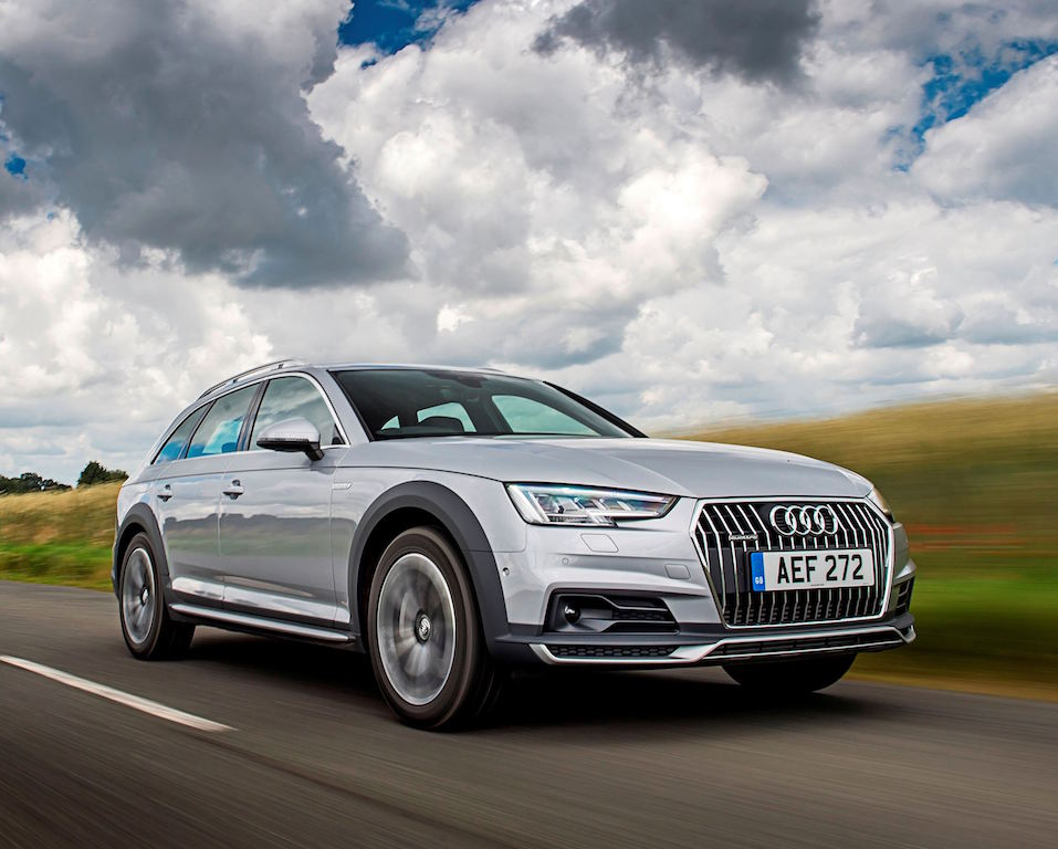 AUDI A4 ALLROAD side front action copy