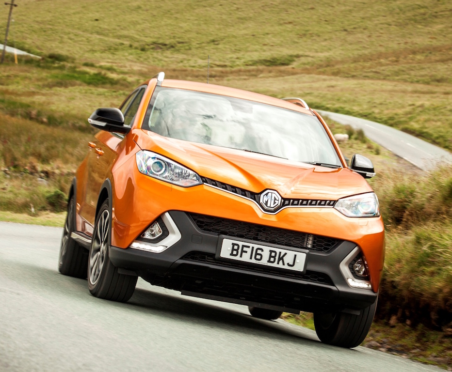 MG GS new SUV front action.2 copy