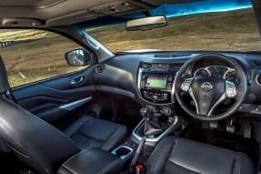 Nissan Navara Double Cab front interior 1 copy