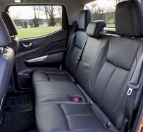 Nissan Navara Double Cab rear seats copy