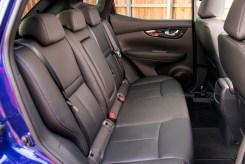 Nissan Qashqai rear seats copy