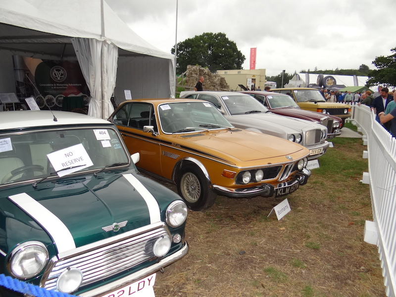 A selection of the cars offered in the Bonhams auction sale. (Photo by Chris Adamson).