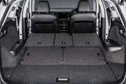 Skoda Kodiaq huge load space with 3+2 rear seats folded down