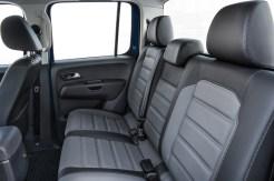 VW Amarok rear seats