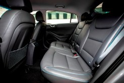 Hyundai Ioniq hybrid 5-door rear seats