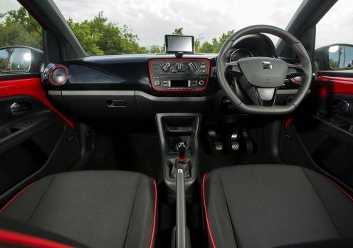 SEAT Mii FR interior front