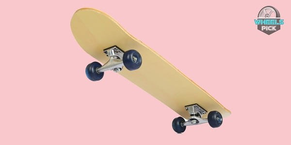 Skateboard with Cruiser Wheels