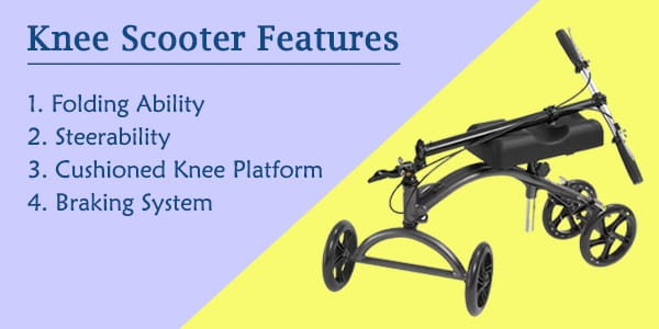 Knee-Scooter-Features