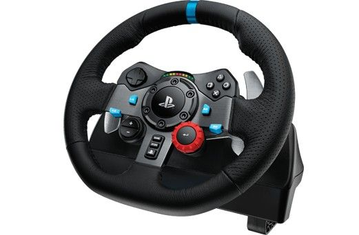 Logitech G29 Force Feedback Racing Wheel - Front View