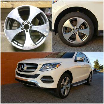 Mercedez-Benz with Wheel Wizard Atlanta
