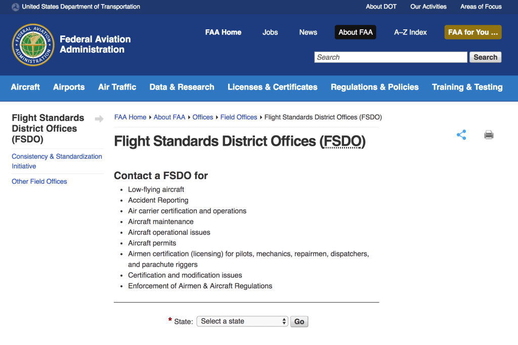 Fly the USA – obtaining your Foreign License Based Airmen ...