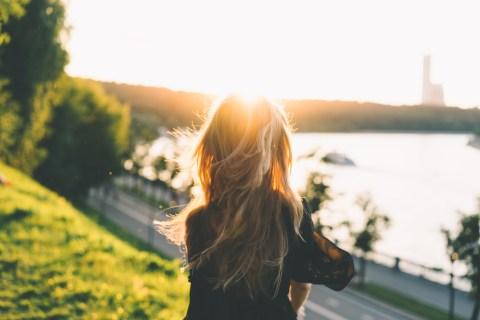 Sunshine for stress and anxiety relief