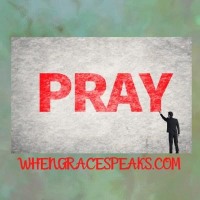 How do we pray?