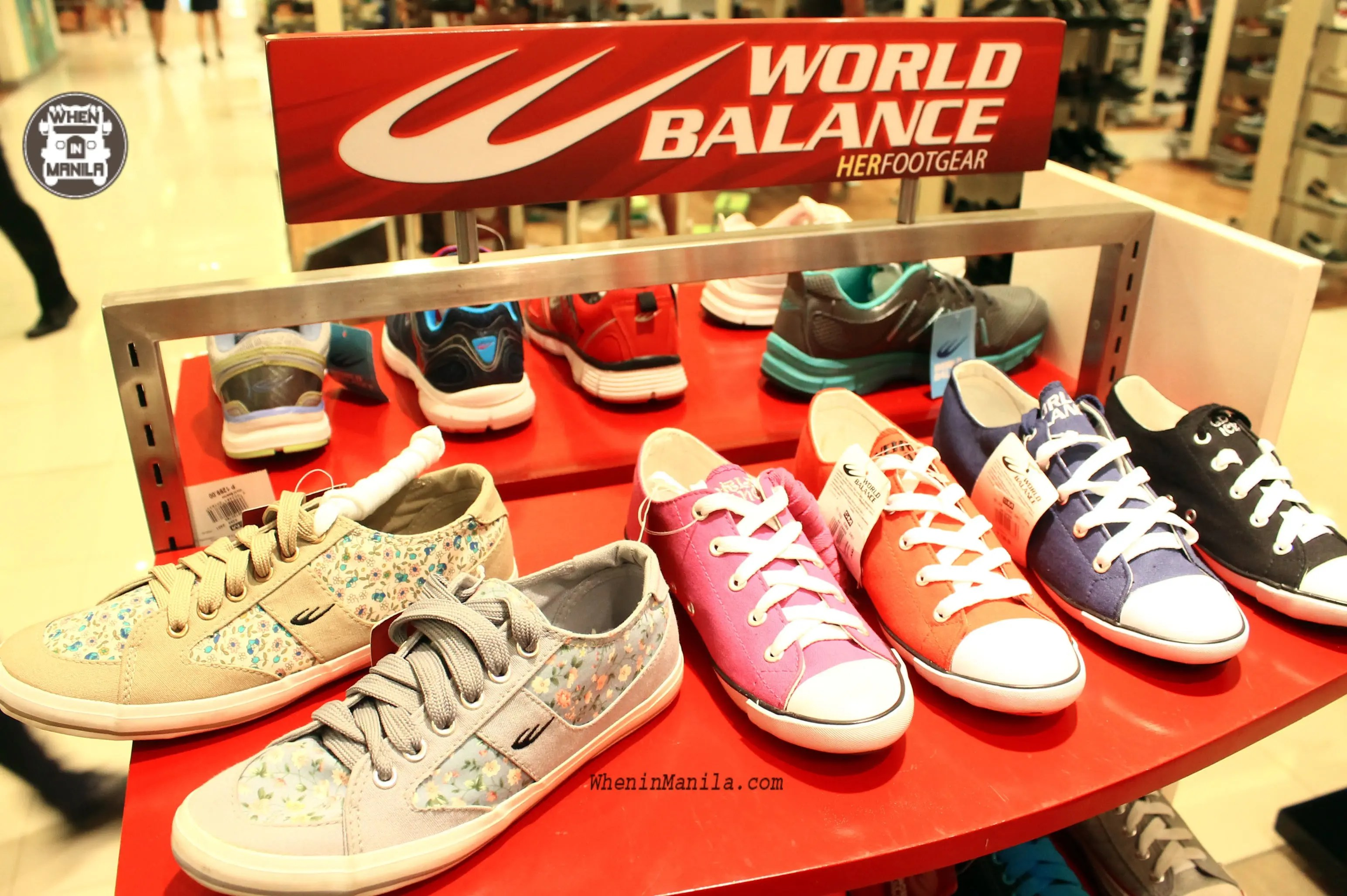 World Balance A Complete World Of Shoes At Your