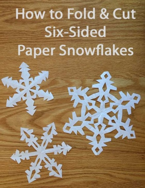 make paper snowflakes This step by step guide will teach you how to make six pointed paper snowflakes most people make (and most how-tos teach) snowflakes with four or eight points real snowflakes in nature form with six points (or occasionally three if they formed weird) so i choose to make my own with six points be.
