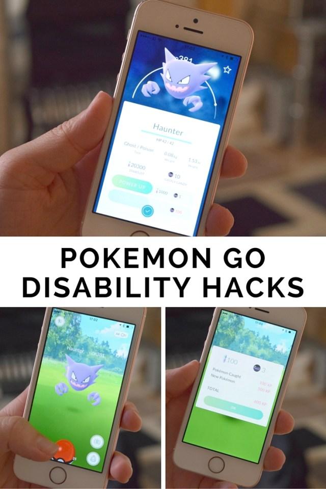 Pokemon Go Disability Hacks