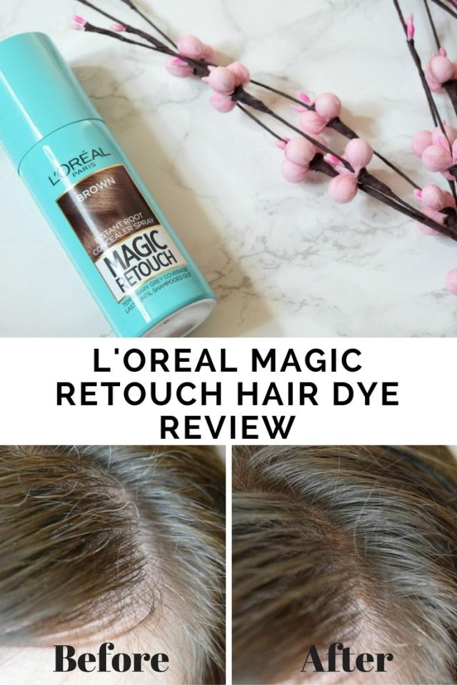 Loreal Magic Retouch Hair Dye When Tania Talks