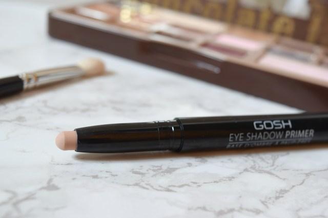 GOSH Eyeshadow Primer Review