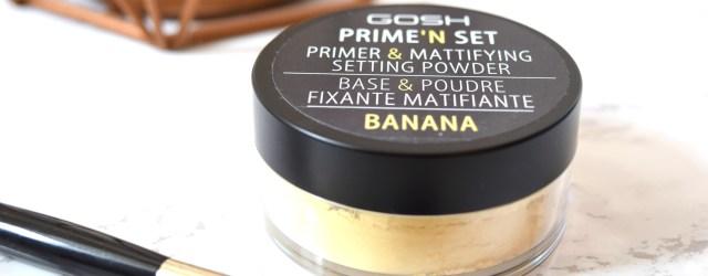 GOSH Prime N Set Banana Powder