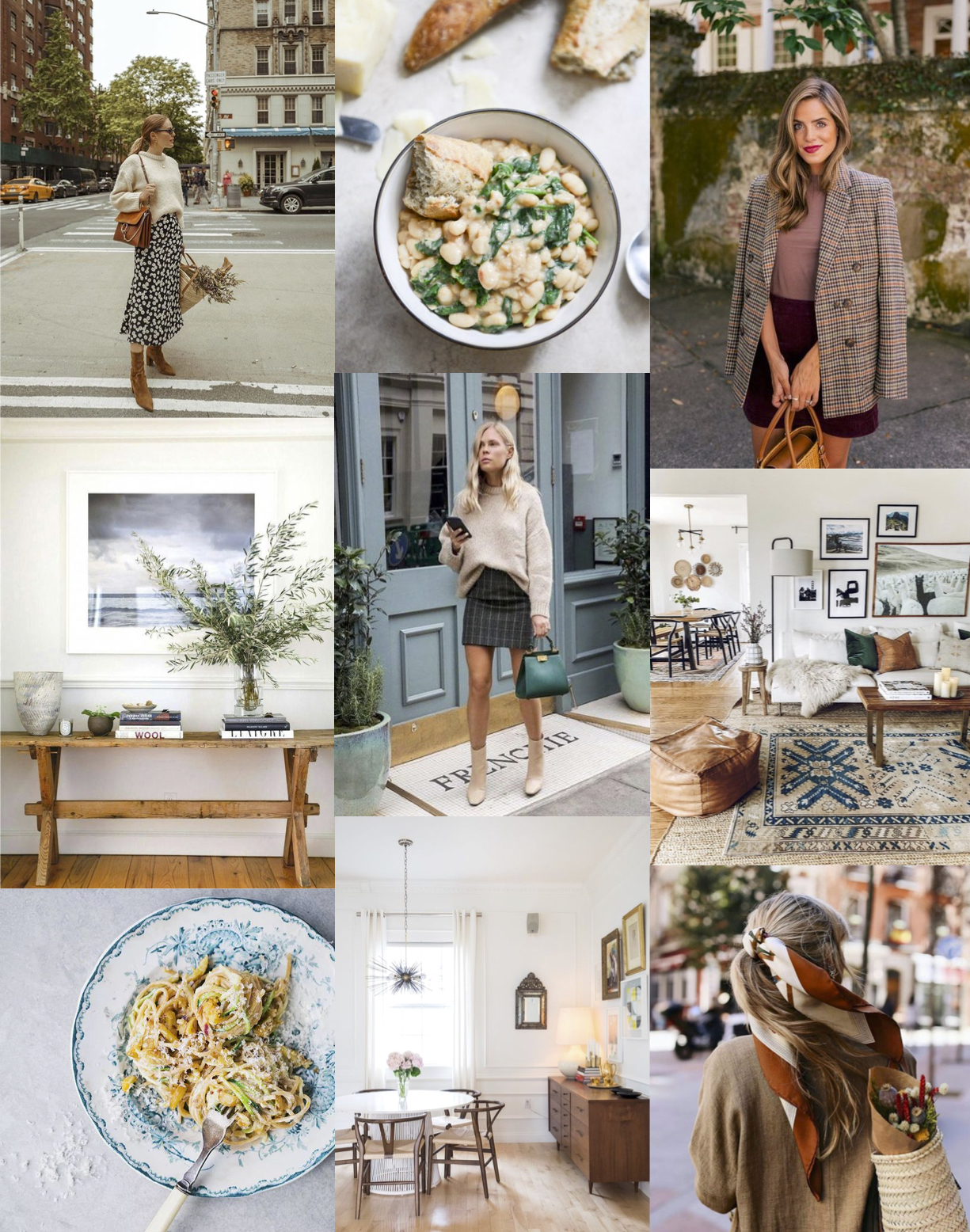 When & Wear September Inspiration imagery