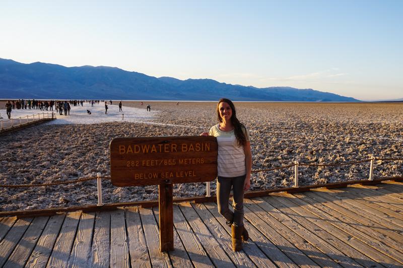 Badwater Basin, Salt Fields, Death Valley National Park, California