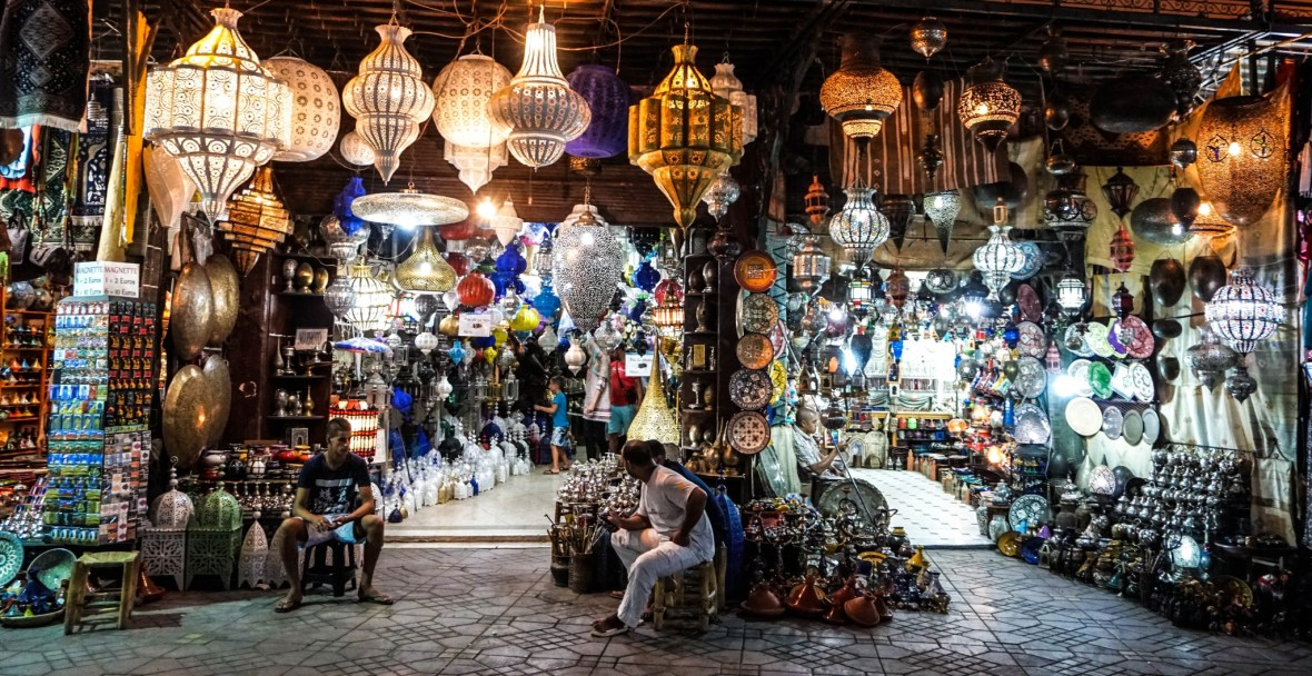 Lanterns, Marrakesh, Morocco