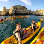 Kayaking, Lagos, Portugal