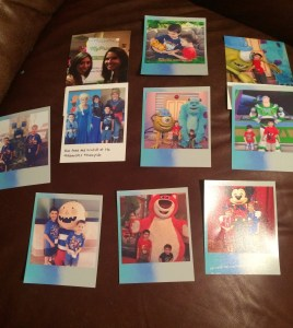 Here are my prints from the HP Social Media Snapshots App and the Hashtag printer.